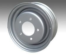 Ecoats Auto Parts ED Painting For Automotive Wheels Hub And Steel Rings